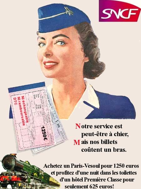 SNCF: à nous de vous faire préférer l'avion!
